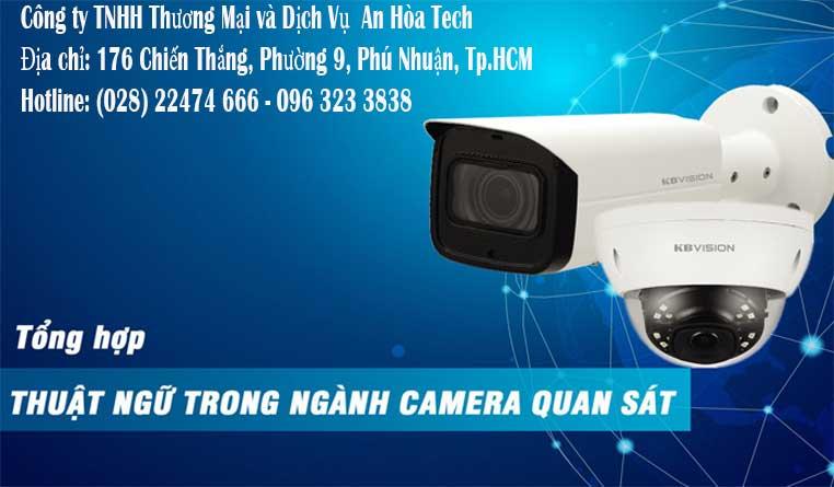 Cách đọc thông số kỹ thuật camera kbvision thuật ngữ camera quan sát kbvision đầy đủ nhất