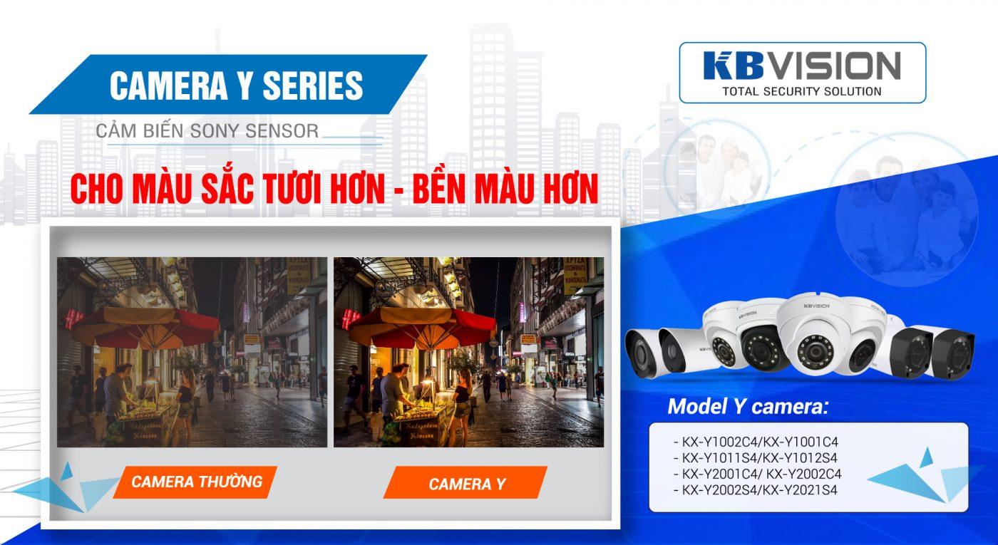 Camera kbvision ip 4mp dòng y cho chất lượng hình ảnh sắc nét