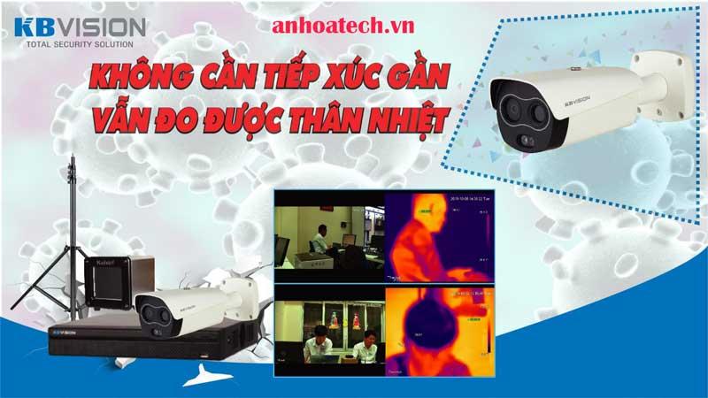Camera Cảm Biến Thân Nhiệt KBVISION Giải Pháp Hữu Hiệu Trong Tâm Dịch Covid-19