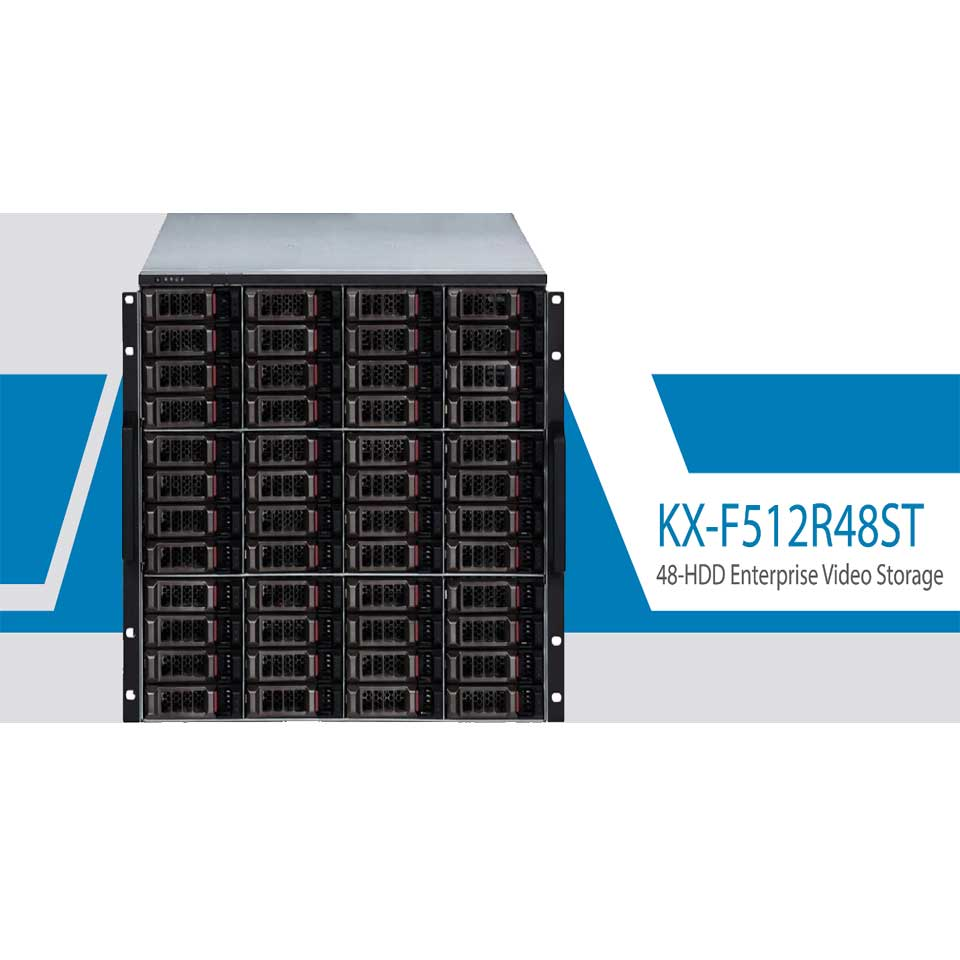 KBVISION ra mắt dòng máy chủ quản lý và lưu trữ video thế hệ mới
