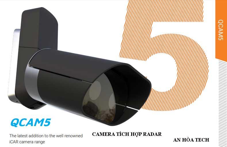 Camera tích hợp radar giao thông 4 làn đường tốc độ lên đến 300 km /h