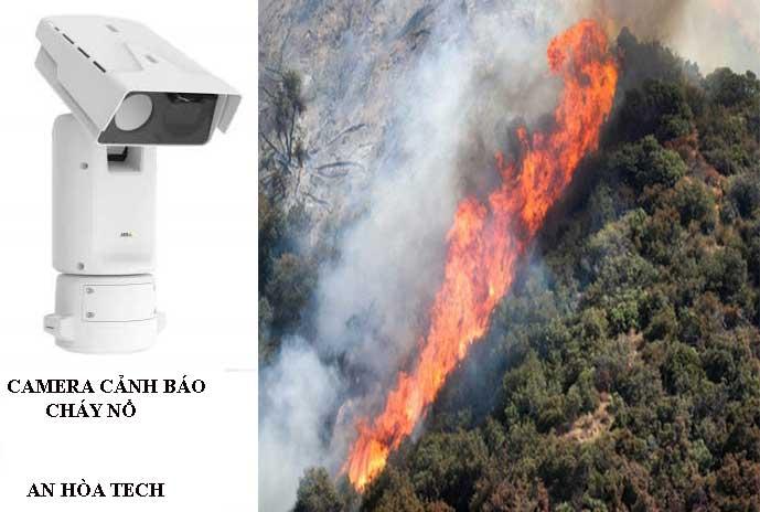 Camera cảnh báo cháy rừng bảo vệ rừng tầm nhìn 15km