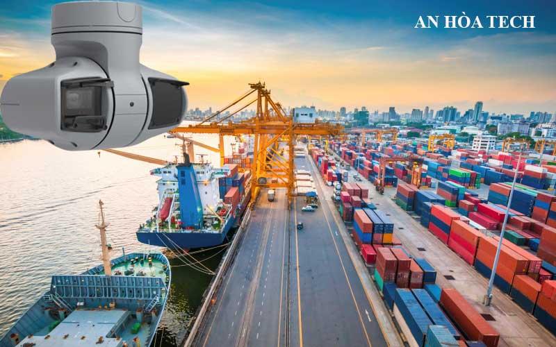 Camera cảng biển quan sát an ninh bến cảng hàng hải