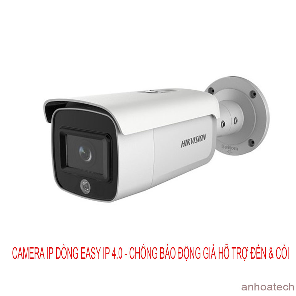 Camera IP thân trụ 4MP HIKVISION DS-2CD2T46G1-4I/SL