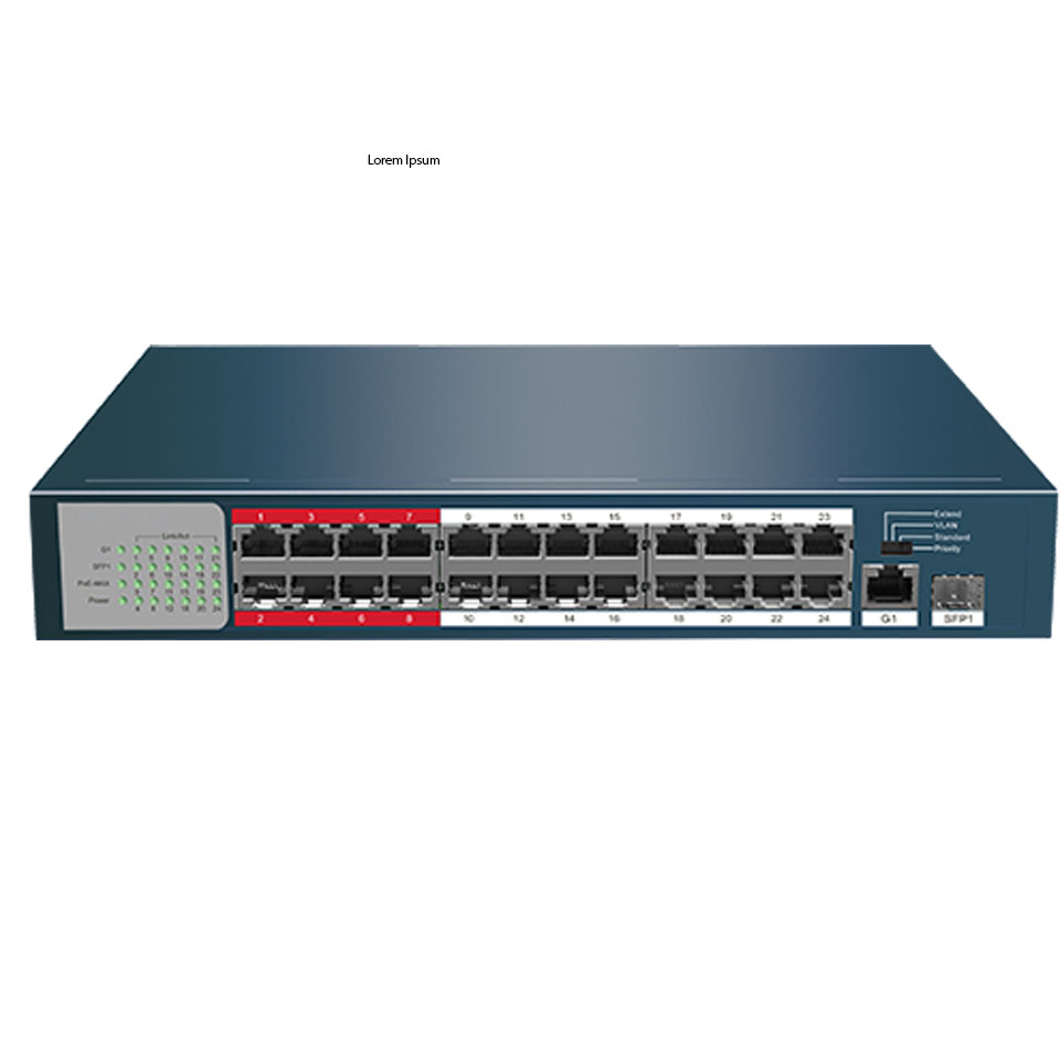 Switch PoE 16 Ports HIKVISION DS-3E0318P-EM