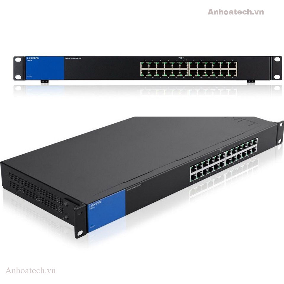 Switch 24 Ports Linksys LGS124 Gigabit