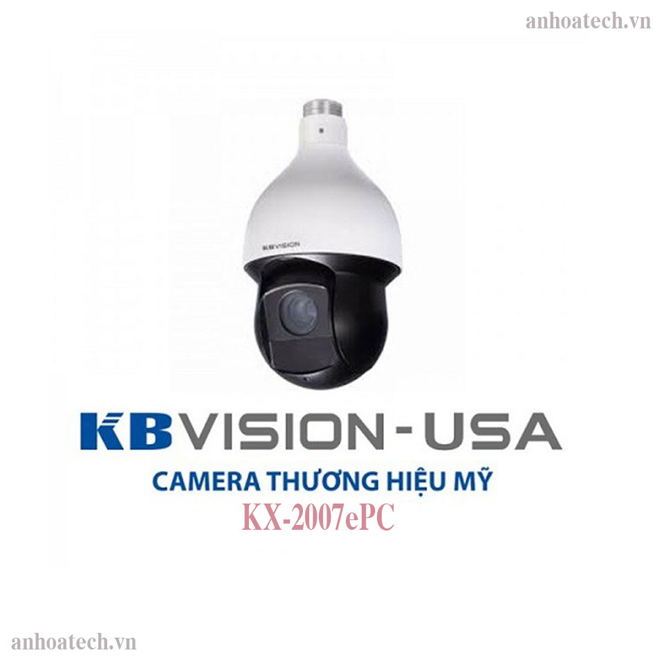 Camera Speed Dome HD ANALOG HCVI 2MP KBVISION KX-2007ePC