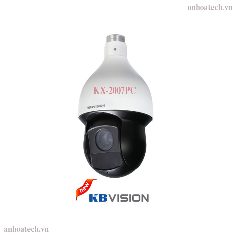 Camera Speed Dome HDCVI 2MP Kbvision KX-2007PC Smart 3D