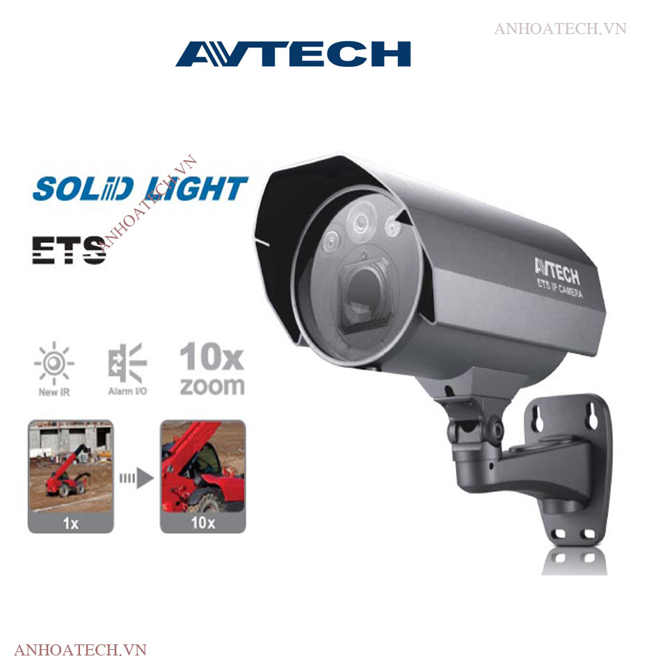 Bán camera IP PoE 2MP AVTECH AVM565A