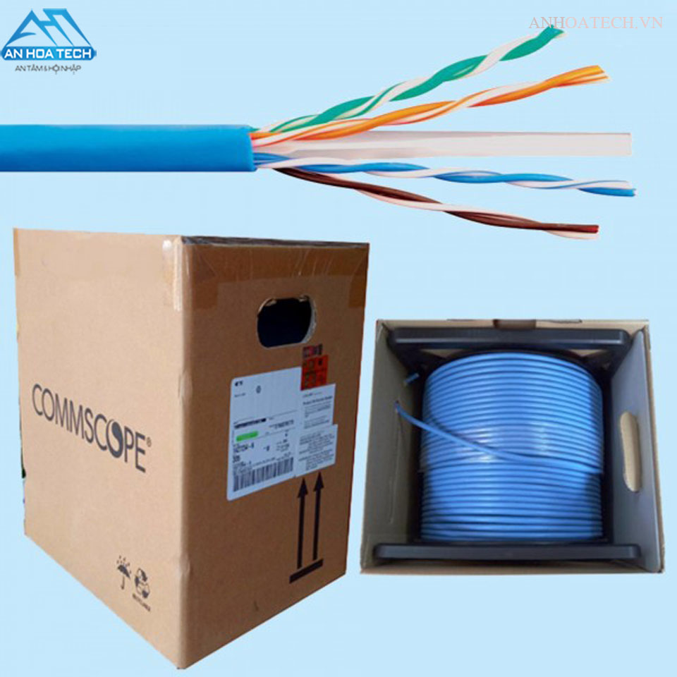 CÁP MẠNG COMMSCOPE/AMP CAT-6 UTP