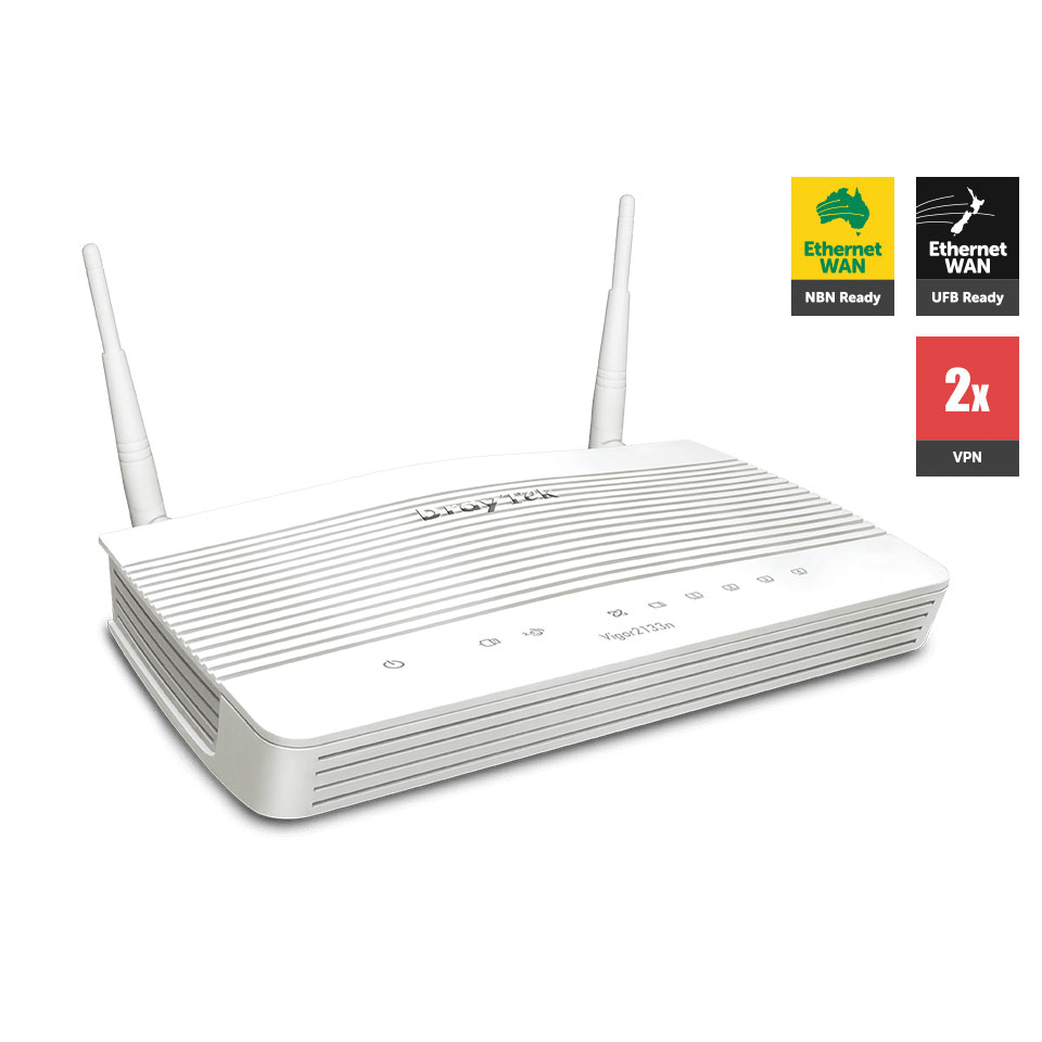 DrayTek Vigor2133n hỗ trợ Wifi Marketing livestream