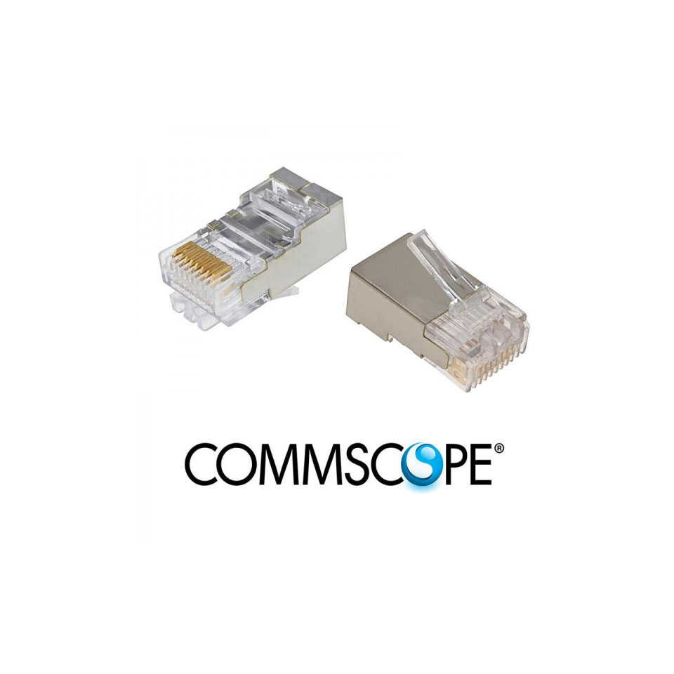 Category 5 Modular Plug COMMSCOPE / AMP 6-557315-3