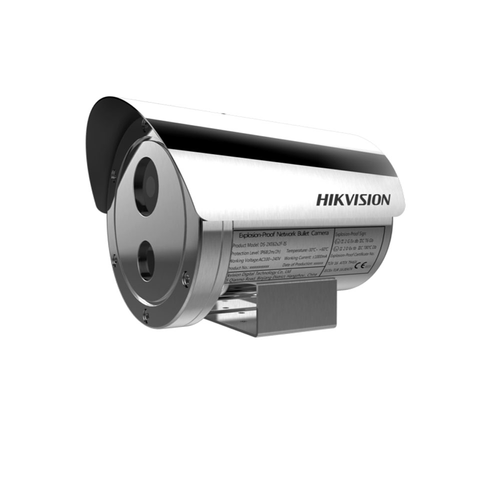 Camera IP 2MP chống cháy nổ hikvision DS-2XE6222F-IS/316L