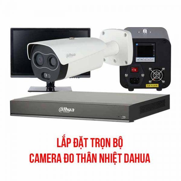Camera Đo Thân Nhiệt Dahua trọn bộ đầy đủ Combo Camera thân nhiệt Dahua