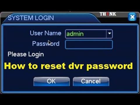 Hướng dẫn reset mật khẩu đầu ghi KBVISON Reset Password DVR  NVR IP Camera kbvision